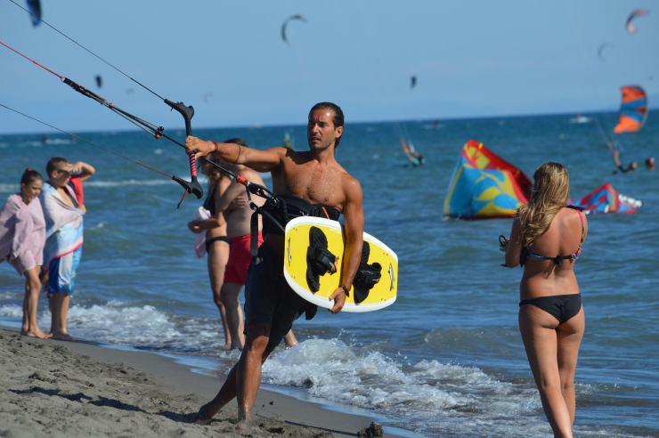 Kite-Surfing in Montenegro